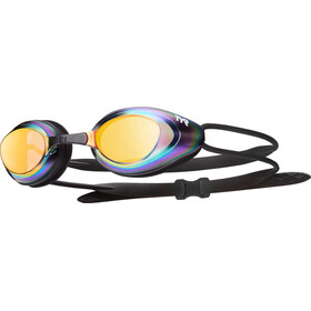 TYR Black Hawk Racing Mirrored Lunettes de protection Homme, gold/metal/rainbow